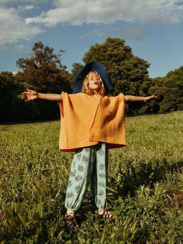 Bobo Choses Sunrise Poncho2